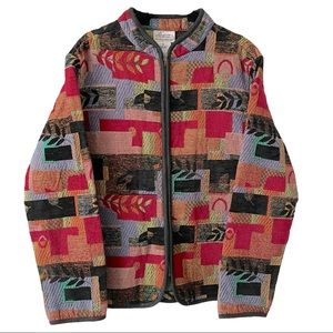 Traditions Tapestry Jacket Embroidered Jacket XL